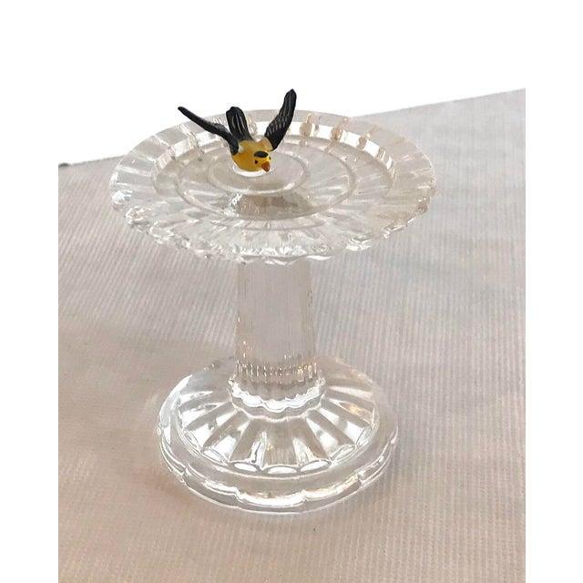 Vintage Waterford Crystal Birdbath For Sale - Image 10 of 10