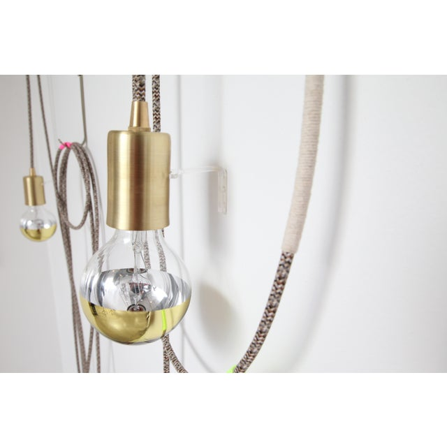 Chad Wentzel Lasso Light Sconce by Chad Wentzel Made For Sale - Image 4 of 6