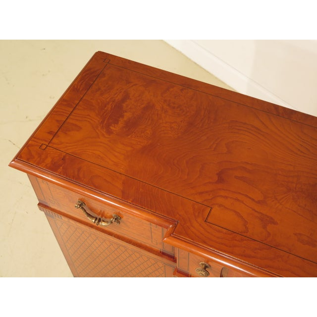 Italian Inlaid Walnut Sideboards - A Pair - Image 9 of 11