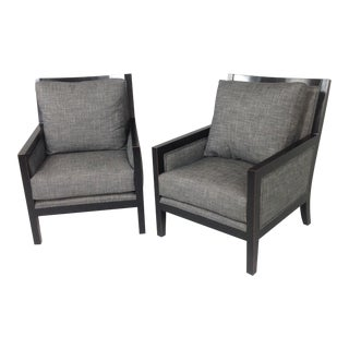 Modern Lounge Chairs - a Pair For Sale