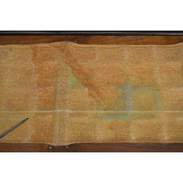 Ficks Reed Vintage Rattan Bamboo Frame Sofa (B) For Sale - Image 11 of 13