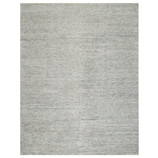 Stark Studio Rugs Contemporary Oriental Bamboo Silk and Wool Rug - 6' X 9' For Sale