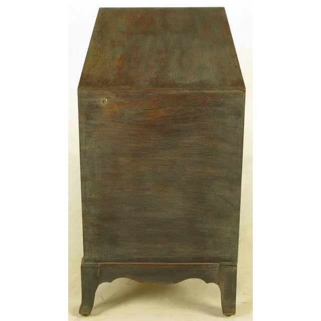 Driftwood Grey Mahogany Cedar-Lined Commode For Sale In Chicago - Image 6 of 9