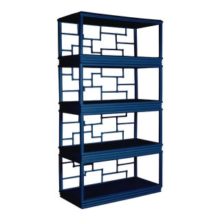 Tibet Etagere - Navy Blue For Sale