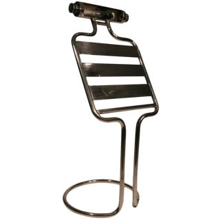 Mid-Century Chrome Sheet Music Stand For Sale