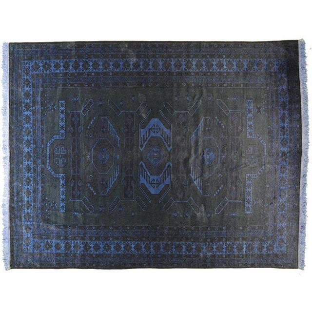 This stunning rug is truly one of a kind. It will make a beautiful addition to a variety of decor schemes.