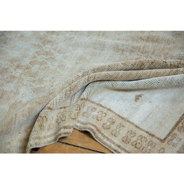 "Brown Vintage Distressed Oushak Rug - 4'10"" X 7'8"" For Sale - Image 8 of 12"