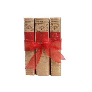Vintage Book Gift Set: Champagne Classics - Set of 3