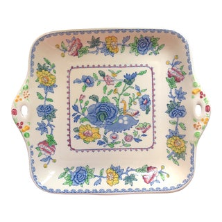 Early 20th Century Antique Mason's Ironstone Colonial Serving Plate
