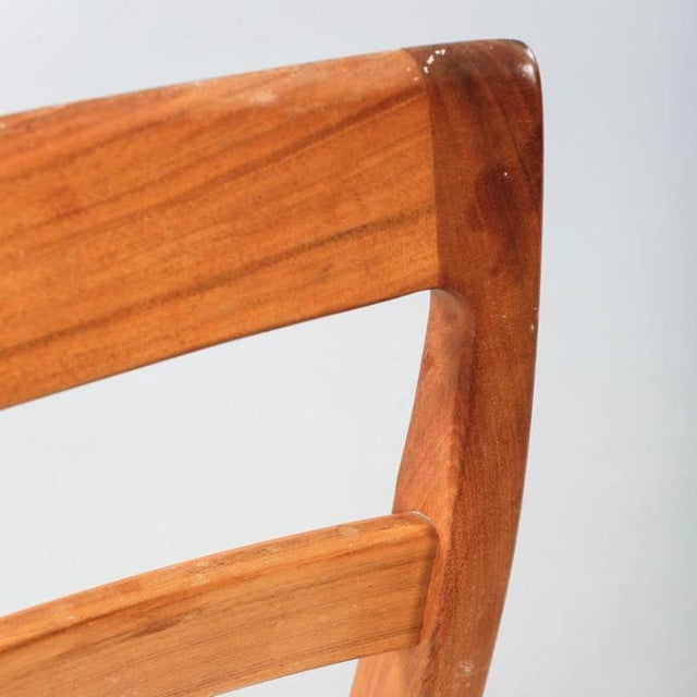 Dining Chairs by Nils Jonsson for Troeds, 1960s - Set of 6 For Sale - Image 6 of 8