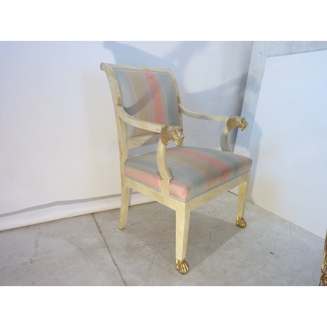 Late 20th Century Late 20th Century Lion Armchair For Sale - Image 5 of 8