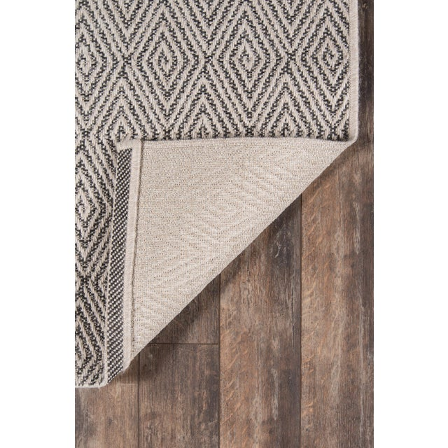 """Erin Gates Downeast Wells Charcoal Machine Made Polypropylene Area Rug 2'7"""" X 7'6"""" For Sale In Atlanta - Image 6 of 10"""