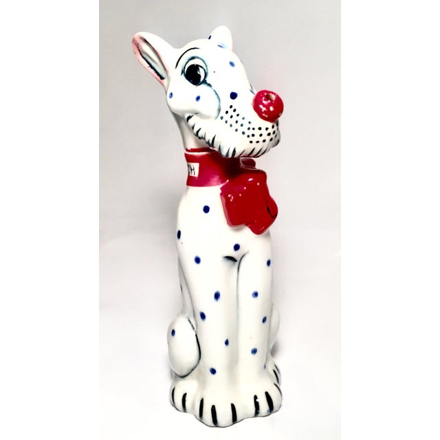 White Spotted Dog Scotch Decanter For Sale - Image 8 of 8
