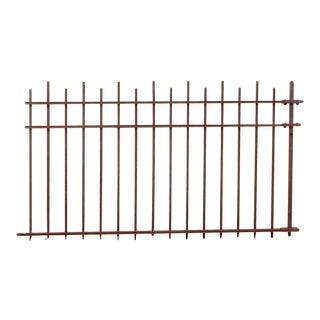 Arts & Crafts Wrought Iron Fence