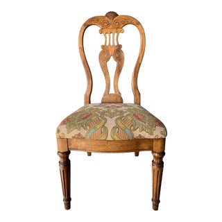 18th-Century Style French Side Chair For Sale