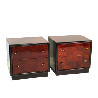 "Henredon ""Scene Three"" Nightstands - a Pair"