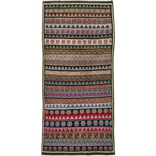 """Vintage Persian Gabbeh Rug – Size: 2' 8"""" X 5'10"""" For Sale"""