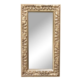 Vintage Florentine Gilt Wall Mirror For Sale