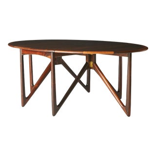 Kurt Ostervig Rosewood Dining Table For Sale