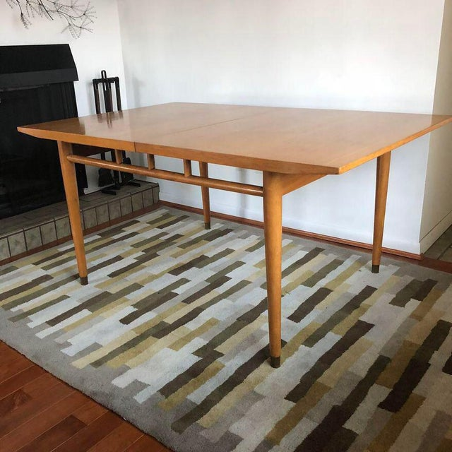 """Milo Baughman for Drexel """"Today's Living"""" Line Dining Table For Sale - Image 10 of 11"""