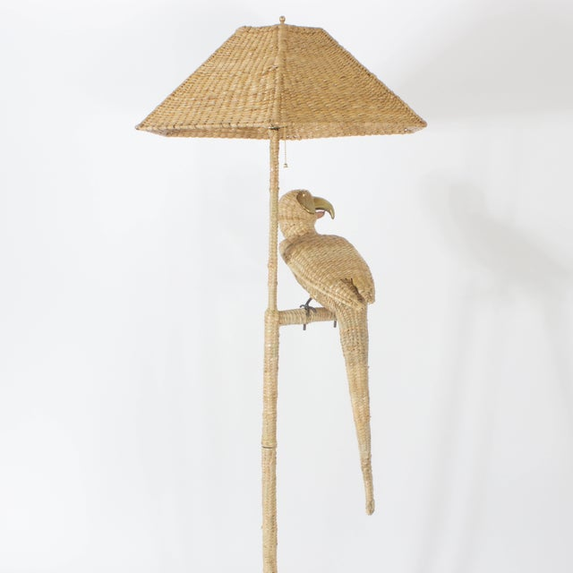 Mid 20th Century Mario Torres Parrot Floor Lamp For Sale - Image 5 of 8