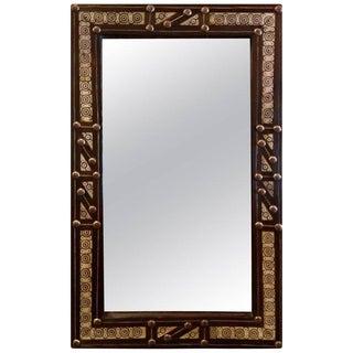 Moroccan Ivory Bone Look Rectangular Mirror