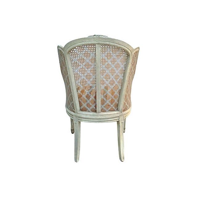 20th Century Antique Wingback Chair For Sale - Image 4 of 12