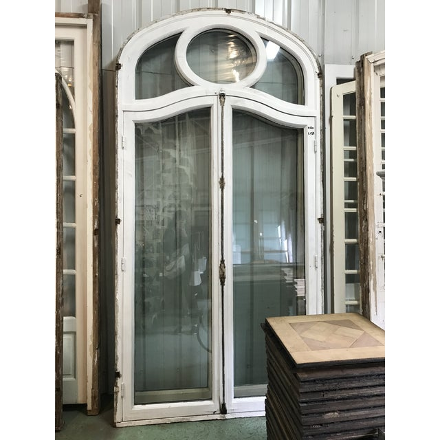 French Antique French Chateau Doors - a Pair For Sale - Image 3 of 9