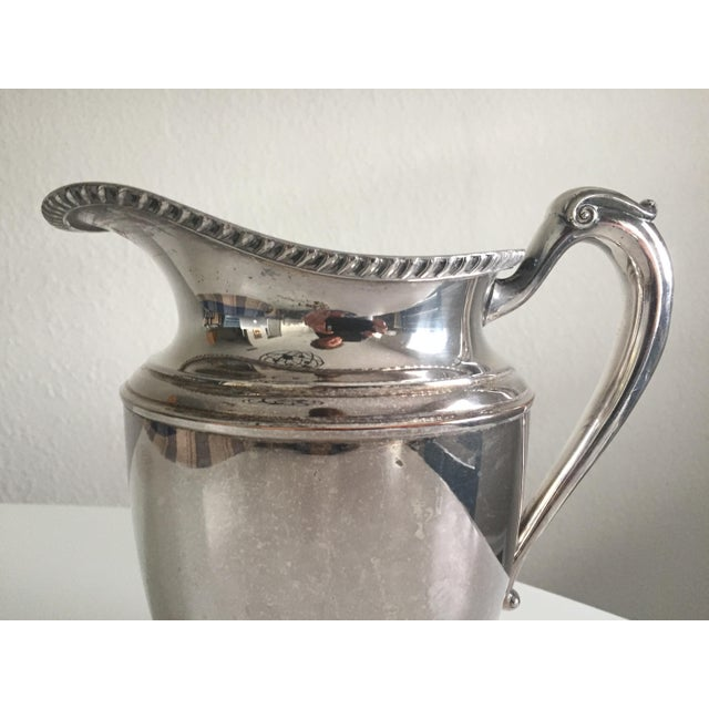 Antique English Silver Water Pitcher For Sale In Tampa - Image 6 of 10