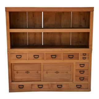 Japanese Antique Tansu Cabinet