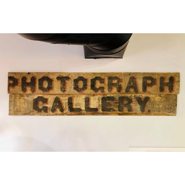 Late 1800s Photography Trade Sign For Sale - Image 10 of 10