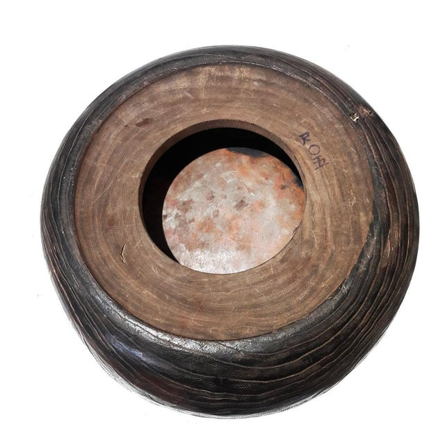 Late 19th Century Wood and Copper Braziers / Hibachis For Sale In New York - Image 6 of 9