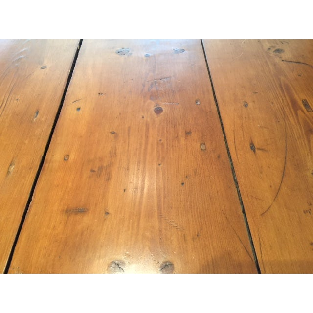 Reclaimed Wood Farm Table - Image 6 of 9
