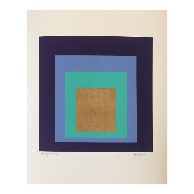 Modern Modern Art Original Signed Numbered Print by Tony Curry For Sale - Image 3 of 4