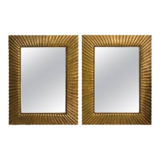 Christopher Guy Harrison Gil Bevelled Glass Mirrors - a Pair