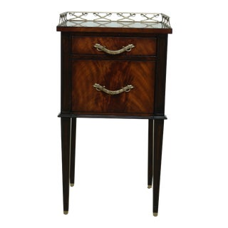 Theodore Alexander Althorp Al-50038 Mahogany Nightstand For Sale