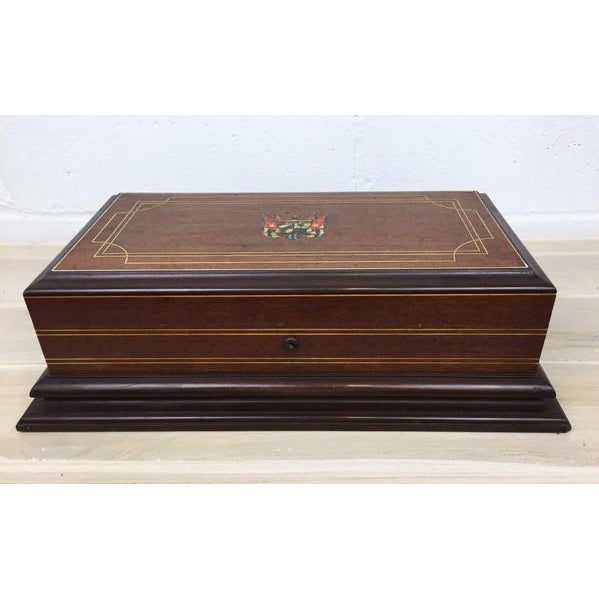 Vintage Cigar Humidor For Sale In New York - Image 6 of 12