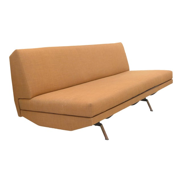 Mid-Century Modern Sofa, Daybed, Lounge by Marco Zanuso for Airflex For Sale