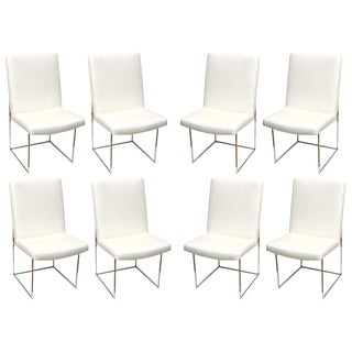 Milo Baughman for Thayer Coggin Architectural Dining Chairs - Set of 8 For Sale