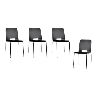 Greutmann Bolzern for Dietiker Alta Modern Dining Chairs - Set of 4 For Sale
