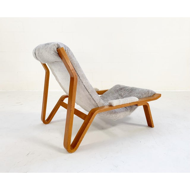 Harvey Probber Suspension Chair Restored in Brazilian Cowhide For Sale - Image 12 of 12