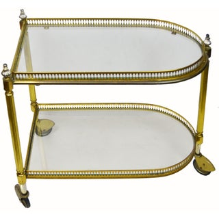 French 2 Tier Bar Cart