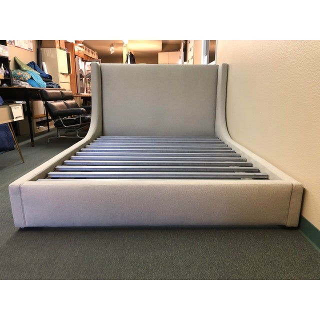 Queen Size Room & Board Marlo Bed Frame For Sale - Image 13 of 13