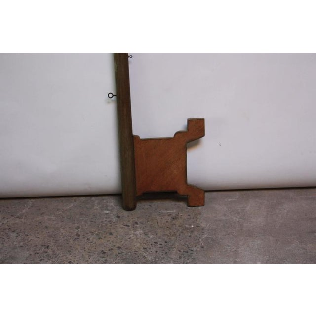 Monumental Mid-20th Century Folk Art Wooden 'Key' Trade Sign - Image 3 of 10