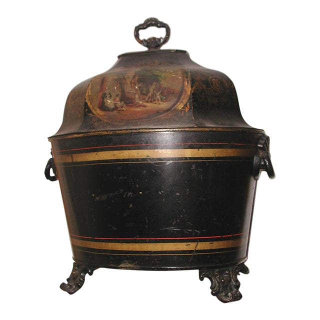 Early 19th Century French Coal Hod For Sale