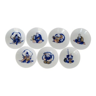 Chinese Sauce Bowls - Set of 7
