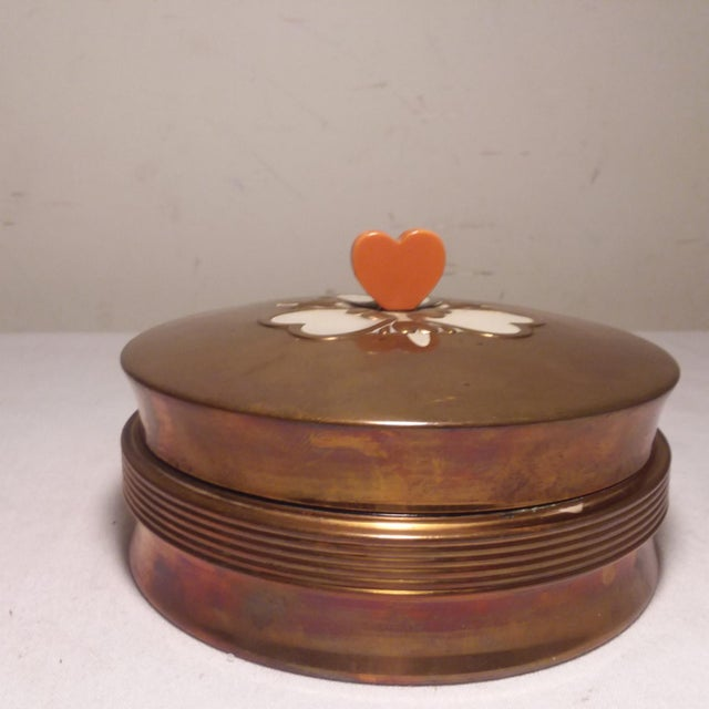 Art Deco Chase Vanity Powder Jar For Sale - Image 11 of 11