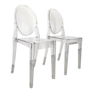 Kartell Victoria Ghost Chairs - a Pair For Sale