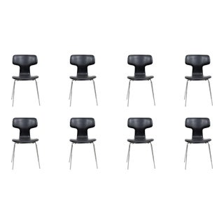 Mid Century Moden Arne Jacobsen Chairs by Fritz Hansen- Set of 8 For Sale