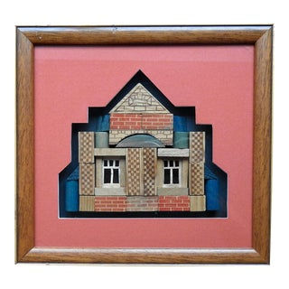 Framed Architectural Blocks For Sale